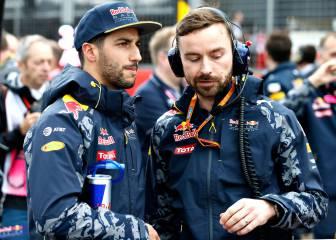 Horner confía en que cambie la fortuna de Ricciardo