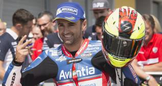 "Barberá: ""Mi moto no va sola detrás de Márquez"""