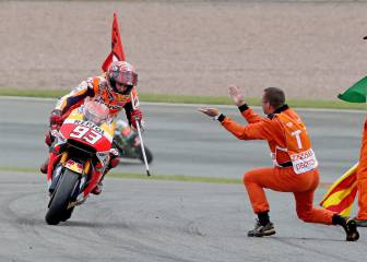 Las imágenes del triunfo de Márquez en el GP de Alemania