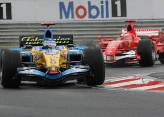 Alonso y Hungría: 10 años de una salida histórica con lluvia