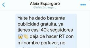 Sigue la guerra en Twitter entre Miguel Abellán y Aleix Espargaró