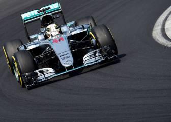 Hamilton vence en Hungría, Alonso fue 7º y Sainz, 8º