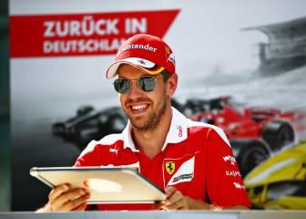 Vettel no se rinde con Ferrari