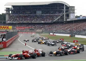 GP Alemania 2016 F1: Horarios, cómo y dónde ver en TV online
