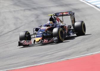 Funcionan las mejoras de Toro Rosso pero el coche es lento