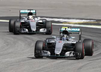 Pole de Rosberg en Alemania, Sainz y Alonso caen en Q2