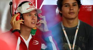 Mick Schumacher: aliciente en los boxes de Ferrari y Mercedes
