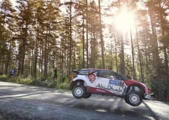 Kris Meeke acaricia su primer triunfo en Finlandia