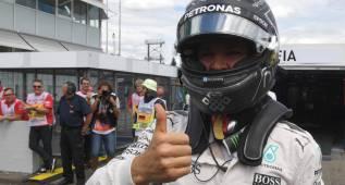 """Nico Rosberg: """"Lancé un martillazo y salió"""""""