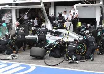 Un fallo en el cronómetro dejó sin podio a Nico Rosberg