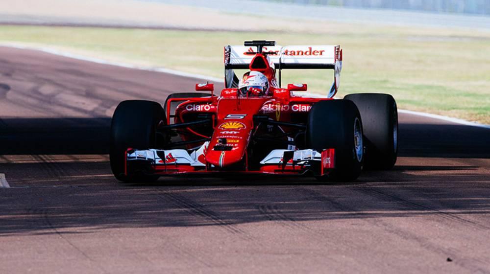 Vettel, el primero en probar los Pirelli de la próxima temporada.