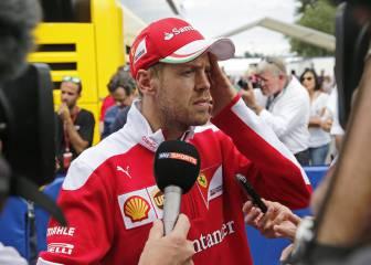 Sebastian Vettel ya medita su futuro en Ferrari