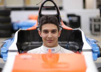 Esteban Ocon, piloto de Manor hasta final de temporada