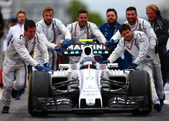 Williams: las mejoras no dan los resultados esperados