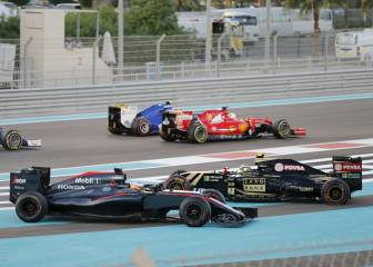 Lotus, Williams y McLaren, los equipos con más pérdidas