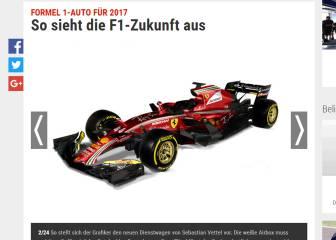 ¿Serán así los F1 de 2017?