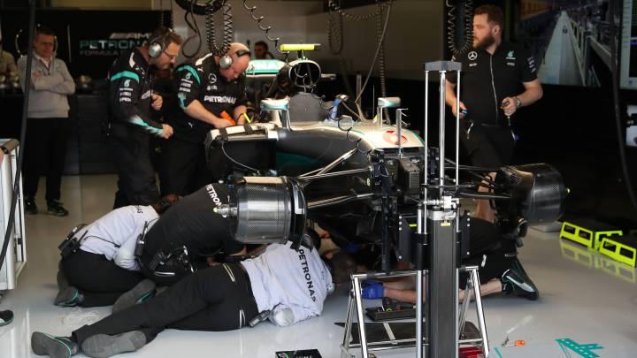¿Cómo supervisa la FIA durante un GP que un F1 es legal?