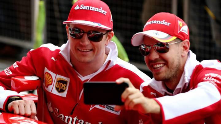 Si Vettel tuviera que elegir un compañero: Kimi Raikkonen