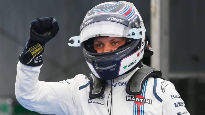 Williams insinúa que Bottas continuará en 2017