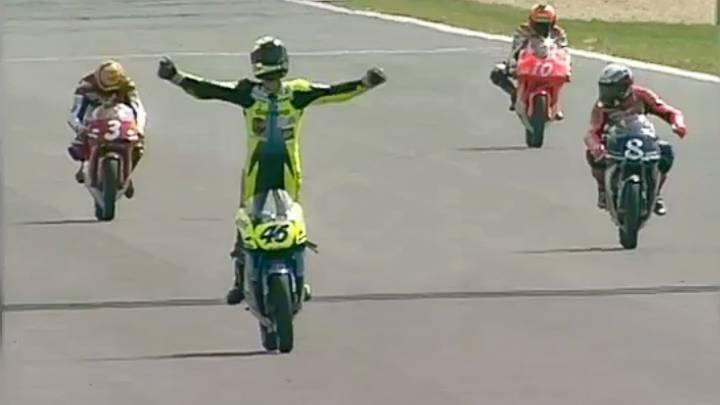 El día que empezó todo: 20 años de la primera victoria de Rossi