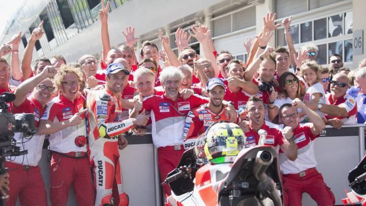 Continúa la guerra Ducati-Honda por la prohibición de las alas