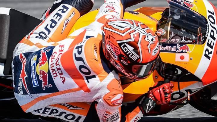 """""""No me lo he pensado a la hora de adelantar a Rossi"""""""