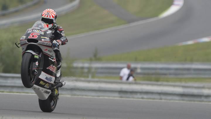 Álex Márquez saldrá tercero tras otra pole de Johann Zarco