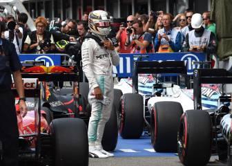 Mercedes decide que Hamilton salga último en Monza