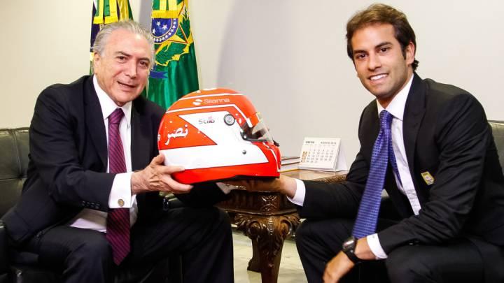 Nasr espera ir a Renault... vía el presidente de Brasil