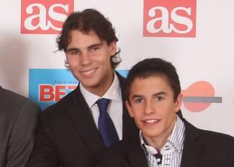 """Nadal a Márquez: """"Contigo habría más medallas en los Juegos"""""""
