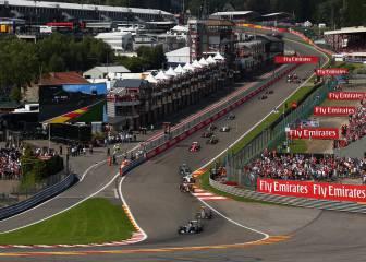 Spa, circuito fetiche para los campeones excepto Alonso