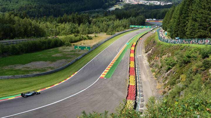 Circuito de Spa: 10 curiosidades sobre el GP de Bélgica de la F1