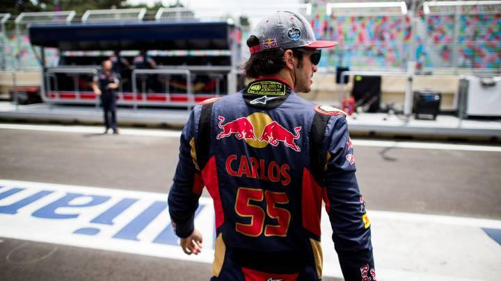 Las mejoras en el chasis de Toro Rosso animan a Sainz