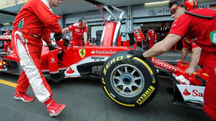 """Pirelli: """"Ferrari va a tener limitaciones por su elección"""""""