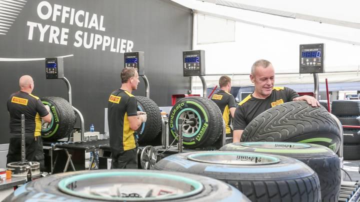 Pirelli experimentará con un compuesto más robusto en Spa