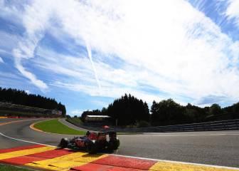 ¿Es un Fórmula 1 el coche más rápido en Eau Rouge?