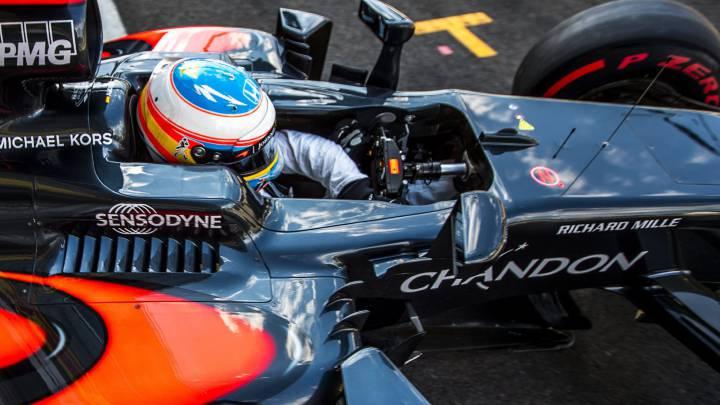 La presión de aceite causa los 60 puestos de sanción a Alonso