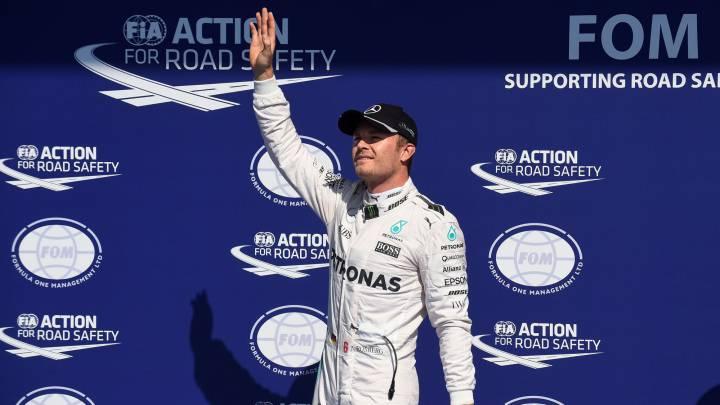 """Rosberg: """"Estoy feliz por conseguir la pole"""""""