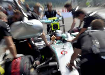 Pole de Rosberg y Alonso duró 200 metros con su McLaren