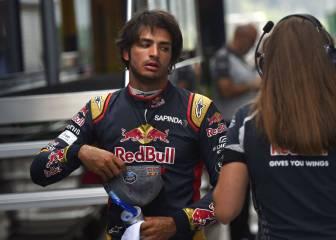 Vettel molestó a Sainz en su vuelta buena de la Q2