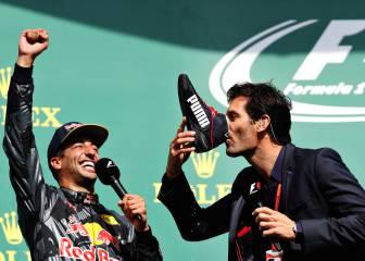 Las mejores imágenes del Gran Premio de Bélgica