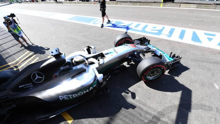 Hamilton saldrá al final junto a Alonso desde la parrilla