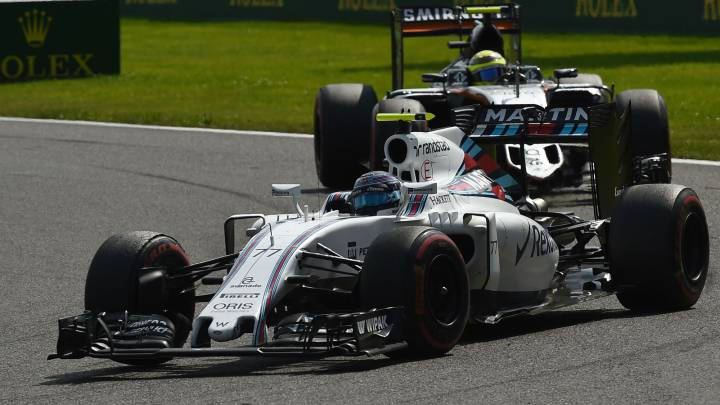 Force India adelanta a Williams y McLaren Honda a Toro Rosso
