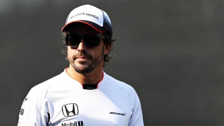 """Alonso: """"Me he divertido, es una buena señal"""""""