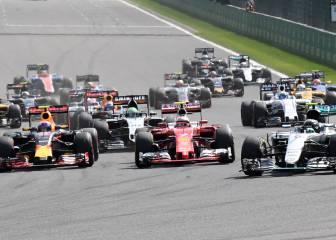 Victoria de Rosberg, remontada de Hamilton y Alonso en Spa