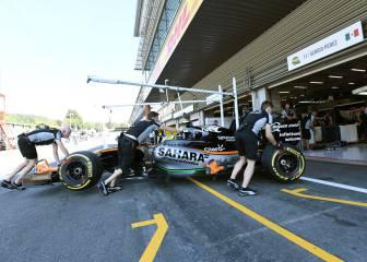 Sergio Pérez espera conocer su futuro después de Monza
