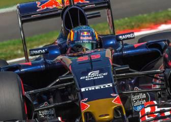 Sainz y las deficiencias del Toro Rosso: curvas y neumáticos