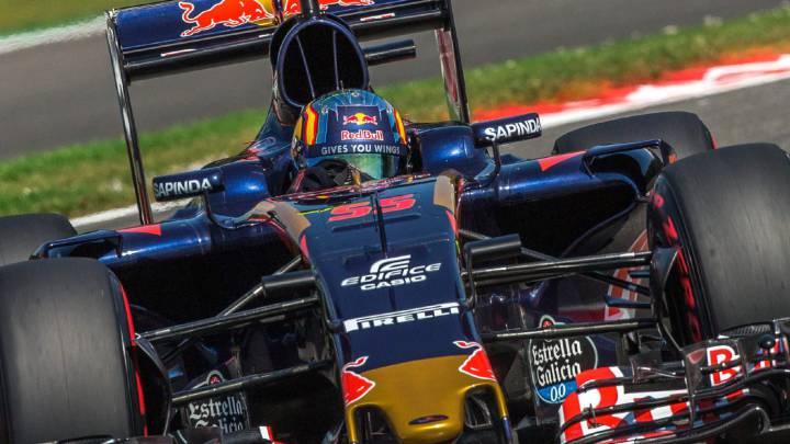 Sainz señala las deficiencias del Toro Rosso: curvas y neumáticos