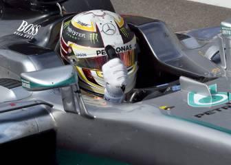 Hamilton, 'Piloto del Día' y empate a podios con Alonso