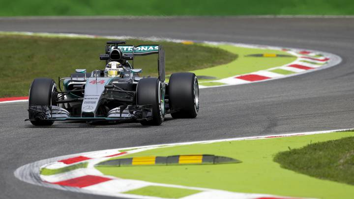 Monza examina a Mercedes en la dictadura del 'poleman'